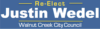 Re-Elect Justin Wedel – Walnut Creek City Council